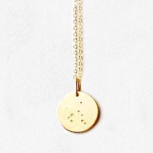 Sagittarius Constellation ZodiacHoroscope Necklace